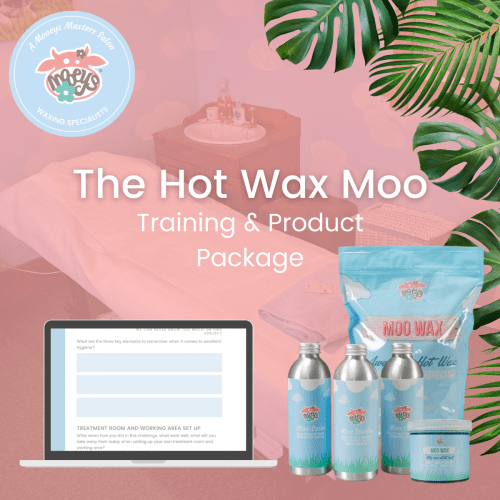 Hot Wax Moo Training & Product Package